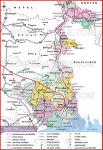 west road map west bengal road map map of west bengal road