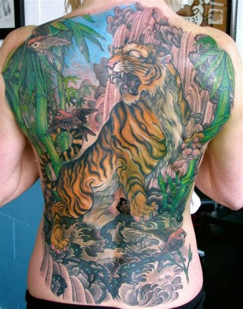 tattoo oriental nas costas 60 tatuagens de tigres semana oriental