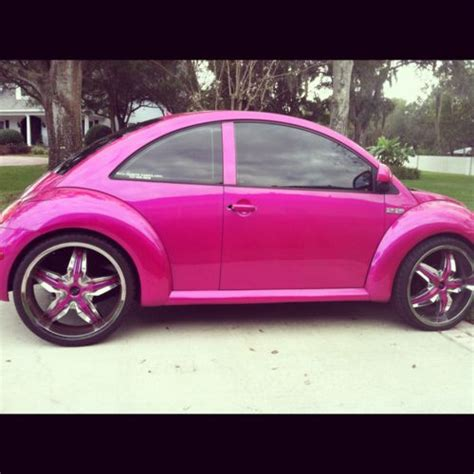 pink punch buggy pink punch buggy convertable cars pinterest