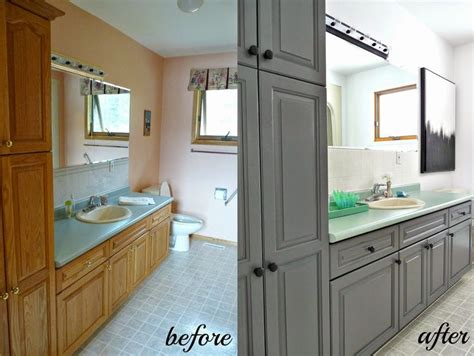 1000 ideas about grey bathroom cabinets on