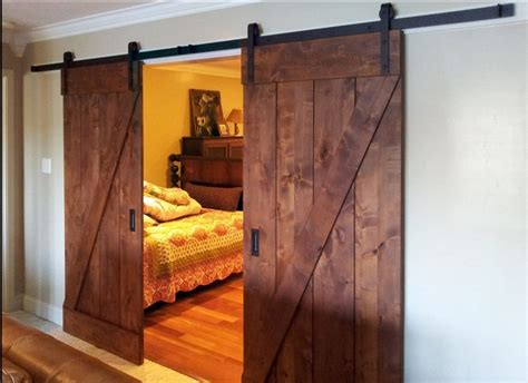 barn door inside house the most stylish and doors for your residence
