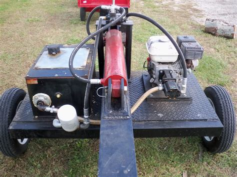 pictures of my log splitter ideas for hydraulic