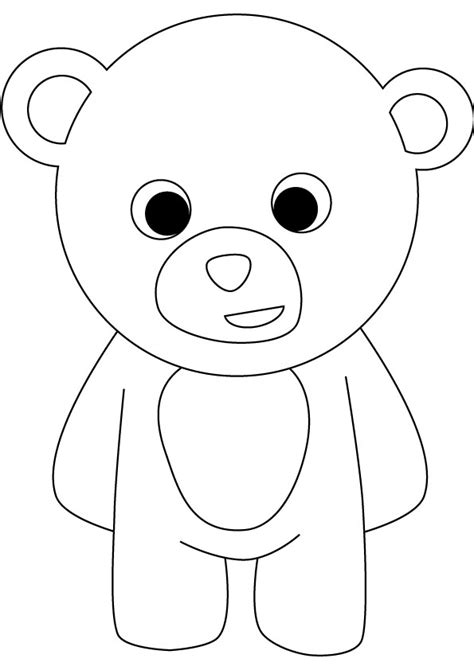free coloring pages of baby bears
