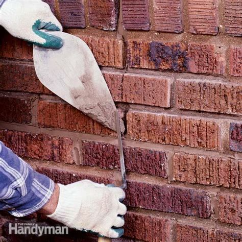 repair mortar joints  family handyman