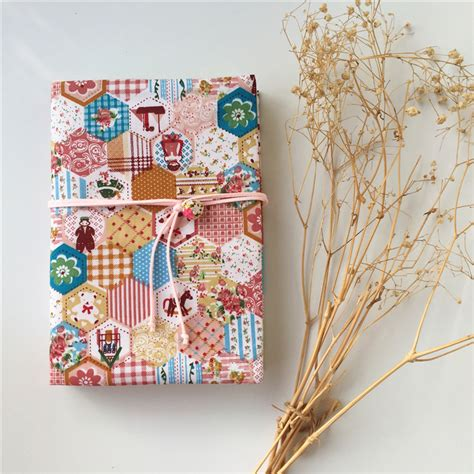 Book Cover Design Handmade - patchwork style handmade japan vintage creative cloth
