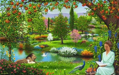 belajar alkitab pohon  tengah taman eden