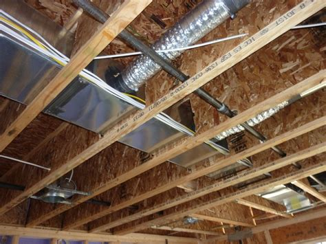air floor in construction hvac duct options in floor joists home improvement stack