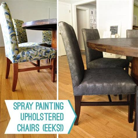 spray painting kitchen chairs of lou you did what now spray painting upholstered chairs