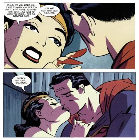 Justice League Wall Stickers new frontier kiss superman amp wonder woman photo