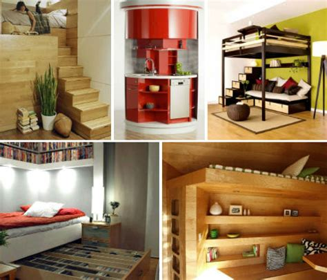 Home Interior Designs For Small Spaces Ultra Compact Interior Designs 14 Small Space Solutions