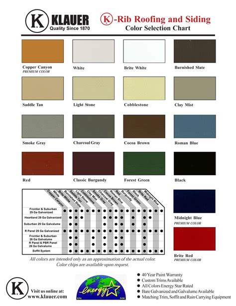 steel siding colors hartje lumber steel siding roofing and flashings