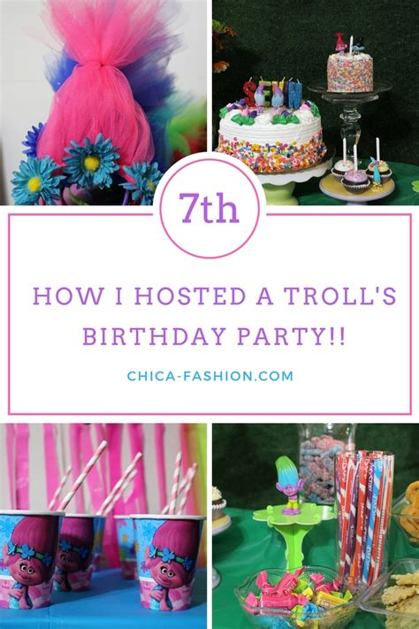 Dollar Store Home Decor Ideas by Naliya S 7th Birthday Dreamworks Trolls Party Alicia