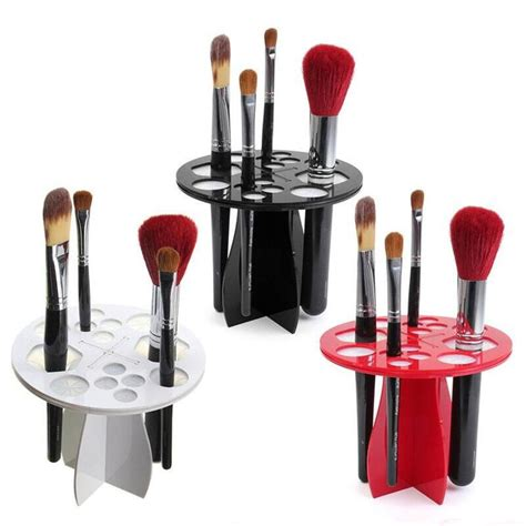 Weekend Roundup Lipstick Powder N Paint 8 by 1pc Stand Makeup Folding Air Drying Brush Rack Holder