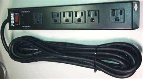 mount surge protector under desk mountable power strip 6 outlet surge protector wall