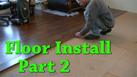 new floor install carpet removal laminate install part 2