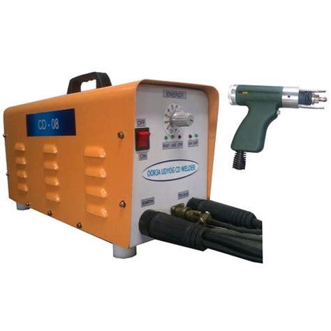 capacitor discharge welding machine manufacturers capacitor discharge stud welding machines cd stud welding machines manufacturer from bengaluru