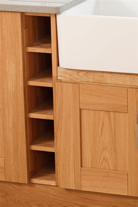 Solid Oak Kitchen Cabinets by Specialist Solid Oak Kitchen Cabinets In Curved Belfast