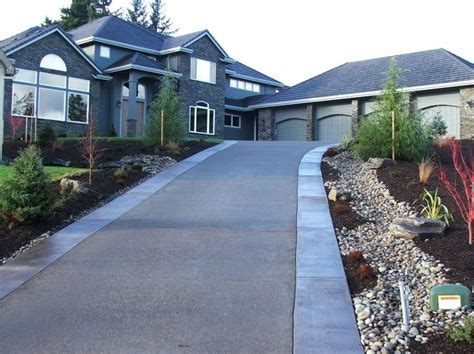 hill driveway design driveway portland or photo gallery landscaping network