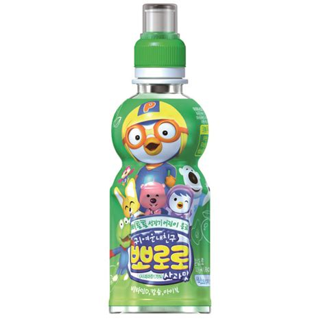 Murah Pororo Fruit Juice Drink Strawberry 235ml pororo drink pet apple fides ny