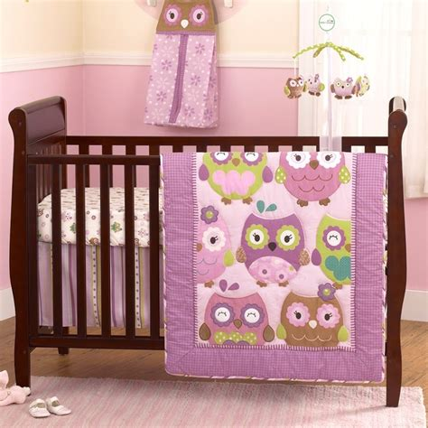 120 Best Owls For Baby Shower Nursery Images On Baby Owl Crib Bedding Sets