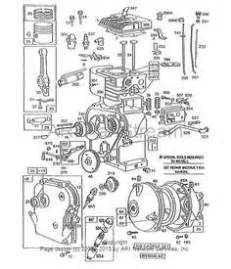 find replacement repair parts  briggs stratton engines lawn mower repairs pinterest
