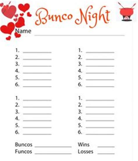 bunco score card templates valentines bunco calendar get it free at www buncoprintables