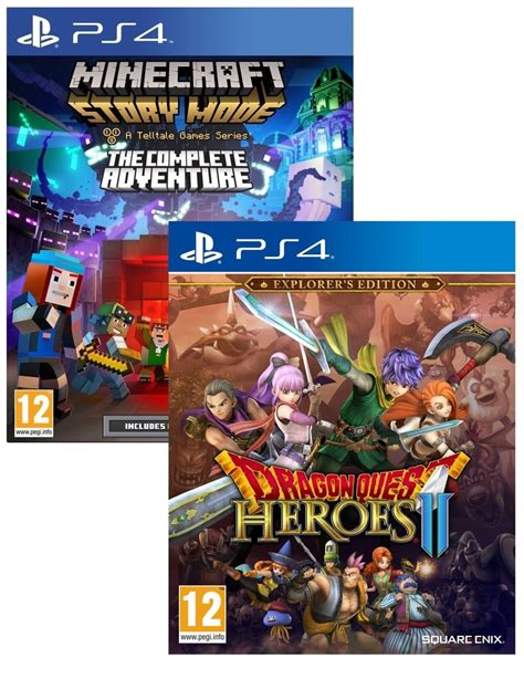 Quest Heroes Ii Ps4 minecraft complete adventure quest heroes ii explorer edition ps4 gaming
