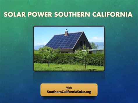 southern california light company solar power companies in southern california