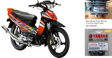 Spare Part Yamaha Mio Cw daftar harga spare part yamaha f1zr