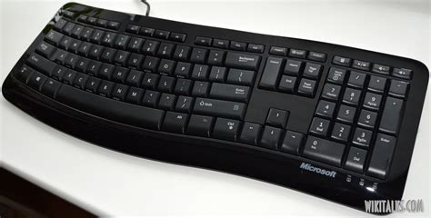 Microsoft Comfort Curve Keyboard 3000 Review by Microsoft Comfort Curve 3000 Wiki Talks