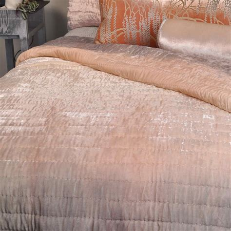 velvet coverlet kevin o brien studio bedding ophelia opal quilted coverlet