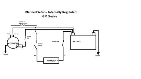 delco remy alternator wiring diagram 4 wire delco