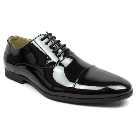 shoes with tuxedo black cap toe patent tuxedo shoes azar suits