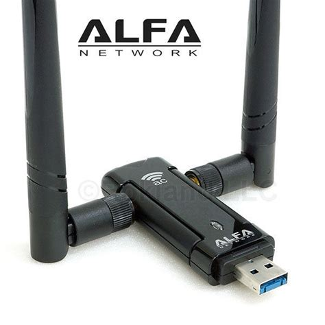 Daftar Usb Wireless Adapter alfa awus036ac 802 11ac 867 mbps range wifi usb