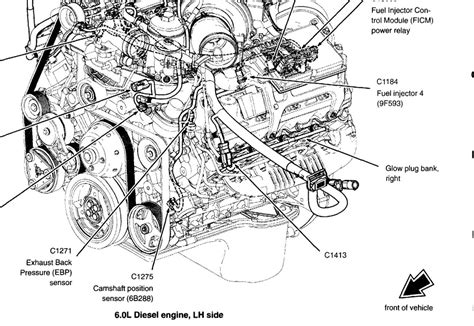 diesel engine parts diagram 2003 ford f250 with 6 0 litre diesel sensor i