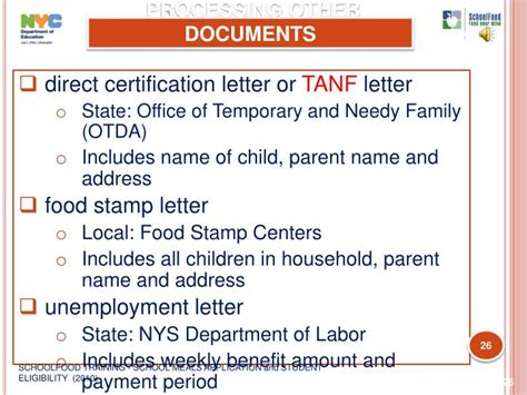 direct certification notification letter ppt schoolfood school meals application and