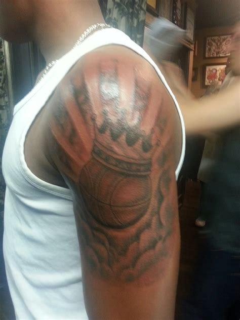 best basketball tattoos designs anthony s basketball 05 04 2013 skin canvas