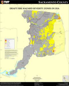 Sac State Map Pdf by Cal Fire Sacramento County Fhsz Map