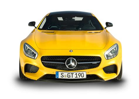 car front yellow mercedes amg gt solarbeam car front png image pngpix