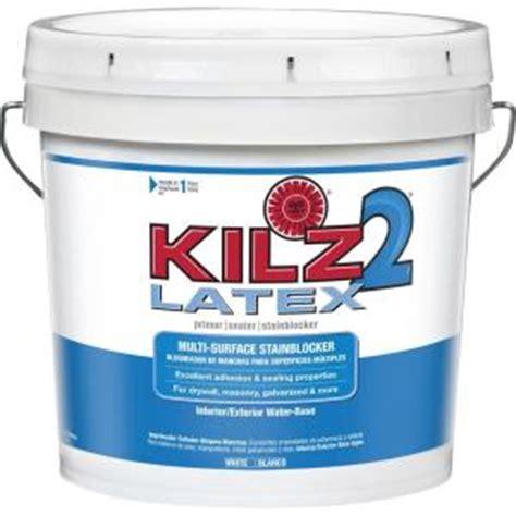 exterior sealant paint kilz 2 2 gal white water based multi surface