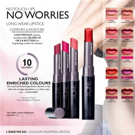 Oriflame The One Lip Palette Lipstick Palette Lipstik Palet 2 Oriflame The One Colour Unlimited Lipsticks Review