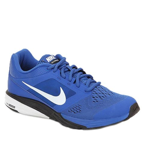 nike blue sports shoes