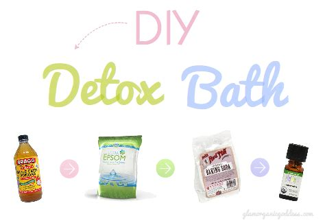Detox Bath Reactions by Diy Detox Bath Recipe The Glamorganic Goddess
