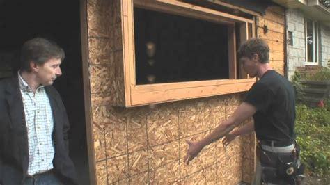 How To Reframe A Door by Weekly Wrap Episode 2 Reframing A Garage Door Opening