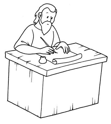 free coloring pages of conversion of paul