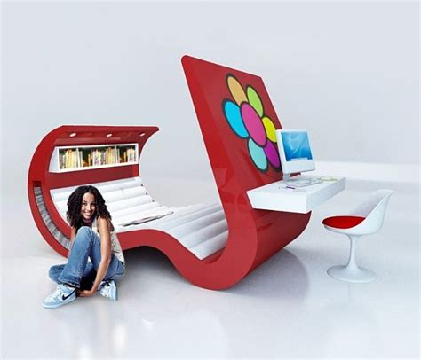 modern bedroom chair awesome funky table and chairs the 15 most funky furniture sets
