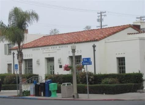La Jolla Post Office by Postal Service Issues Determination To