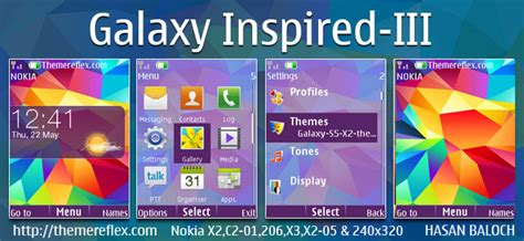 galaxy themes for nokia c3 galaxy inspired themes themereflex