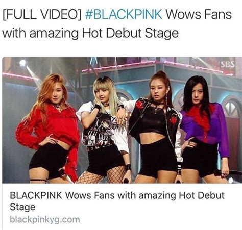 blackpink debut stage blackpink boombayah photos k pop amino
