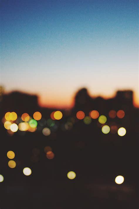 nm light bokeh sunset city wallpaper